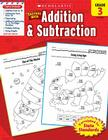 Scholastic Success With Addition & Subtraction: Grade 3 Workbook Cover Image