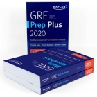 GRE Complete 2020: 3-Book Set: 6 Practice Tests + Proven Strategies + Online (Kaplan Test Prep) Cover Image
