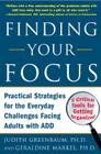 Finding Your Focus: Practical Strategies for the Everyday Challenges Facing Adults with Add Cover Image