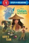Raya's Team (Disney Raya and the Last Dragon) (Step into Reading) Cover Image