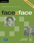 Face2face Advanced Teacher's Book with DVD Cover Image