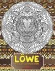 Malbuch für Erwachsene - Entspannen - Tiere - Löwe Cover Image