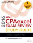 Wiley Cpaexcel Exam Review 2016 Study Guide January: Auditing and Attestation Cover Image