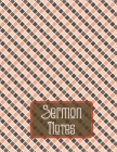 Sermon Notes: Sermon notebook journal-Scripture Notes and Prayer-Remember And Reflect Cover Image