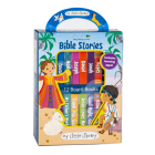 My Little Library: Bible Stories (12 Board Books & 3 Downloadable Apps!) Cover Image