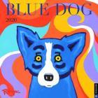 Blue Dog 2020 Wall Calendar Cover Image