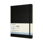 Moleskine 2022  Monthly Planner, 12M, Extra Large, Black, Hard Cover (7.5 x 10) Cover Image