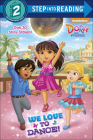 We Love to Dance! (Step Into Reading) Cover Image