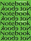 Graph Paper Notebook 120 Pages with 1 CM Squares: 8.5 X 11 Inch Notebook with Lime Cover, Graph Paper Notebook with One Centimeter Squares, Perfect Bo Cover Image