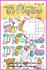 It's Playtime: Activity Book For Kids 4-8 Years, Creative Workbook for Holiday, Maze, Word Search and More Cover Image