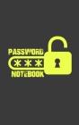 Password Notebook: Password Logbook. Password keeper. Password Internet notebook. Email Password Organizer, Password Keeper Book, Passcod Cover Image