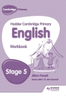 Hodder Cambridge Primary English: Work Book Stage 5 Cover Image