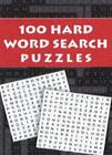 100 Hard Word Search Puzzles Cover Image