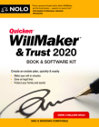 Quicken Willmaker & Trust 2020: Book & Software Kit Cover Image
