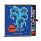 Jonathan Adler 750 Piece Lips Shaped Puzzle Cover Image