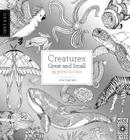 Field Guide: Creatures Great and Small: 35 Prints to Color Cover Image