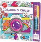 Coloring Crush [With Pens/Pencils] Cover Image
