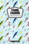 Fishing Logbook: Fishing Lures Pattern 6