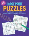 Large Print Puzzles Cover Image