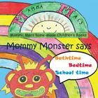 Mommy Monster Says Bathtime Cover Image