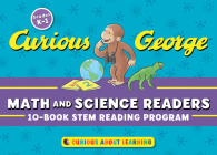 Curious George Math and Science Readers: 10-Book STEM Reading Program Cover Image