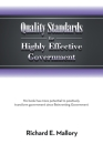 Quality Standards for Highly Effective Government: No Book Has More Potential to Positively Transform Government Since Reinventing Government Cover Image
