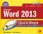Microsoft(r) Word 2013 Quicksteps Cover Image