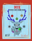 Deer Zentangle Animal Coloring Book: Get Creative and Design for Relaxation Mandala Coloring Book for Teens and Adults - Sloths, Rabit, OX, Lion, Tige Cover Image