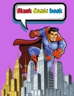 Comic Book Blank for kids Cover Image