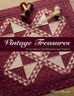 Vintage Treasures: Little Quilts for Reproduction Fabrics Cover Image