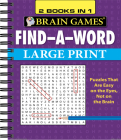 Brain Games - 2 Books in 1 - Find-A-Word Cover Image