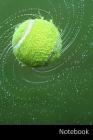 Notebook: Tennis taccuino - agenda - quaderno delle annotazioni - diario - libro di scrittura - carnet - zibaldone - 6x9