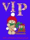 VIP: Kid's Christmas Drawing Book Cover Image