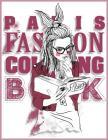 Paris Fashion Coloring Book: The Best of Paris Coloring Book for Adults & Paris Street Style Coloring Book Cover Image