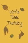 Let's Talk Turkey: Thanksgiving Meal Planner, 6