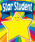 Star Student Motivational Stickers Cover Image