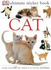 Ultimate Sticker Book: Cat: More Than 60 Reusable Stickers Cover Image