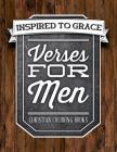Verses for Men: Inspired to Grace: Christian Coloring Books: A Scripture Coloring Book for Adults & Teens Cover Image