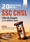 20 Practice Sets for SSC CHSL (10 + 2) Exam with 3 Online Tests Cover Image