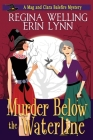 Murder Below the Waterline: A Witch Cozy Mystery: Large Print Cover Image