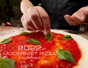 2022 Modernist Pizza Calendar Cover Image