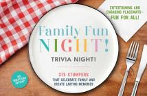Family Fun Night Trivia Night Placemats Cover Image