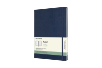 Moleskine 2020-21 Weekly Planner, 18M, Extra Large, Sapphire Blue, Hard Cover (7.5 x 9.75) Cover Image