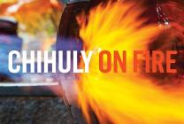 Chihuly: On Fire Postcard Book Cover Image