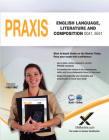 Praxis English Language, Literature and Composition 0041, 5041 Book and Online Cover Image