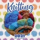 Knitting 2021 Mini Wall Calendar Cover Image