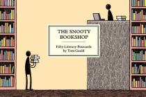 The Snooty Bookshop: Fifty Literary Postcards by Tom Gauld Cover Image