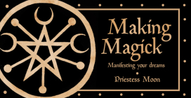 Making Magick: Manifesting Your Dreams  (Mini Inspiration Cards) Cover Image