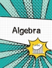 Algebra Graph Paper Notebook: (Large, 8.5x11) 100 Pages, 4 Squares per Inch, Math Graph Paper Composition Notebook for Students Cover Image