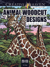 Creative Haven Deluxe Edition Animal Woodcut Designs Coloring Book (Creative Haven Coloring Books) Cover Image
